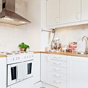 43平现代有爱一居室欣赏厨房