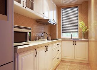雅致简约三居案例欣赏厨房橱柜
