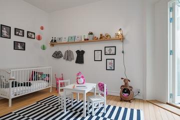 102平北欧温馨公寓欣赏儿童房