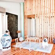 老房改造简约三居室欣赏餐厅
