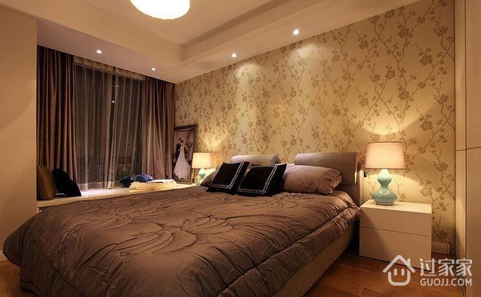 温馨卧室窗帘装饰效果图 打造简约家居