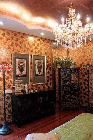 深情东南亚住宅欣赏卧室局部