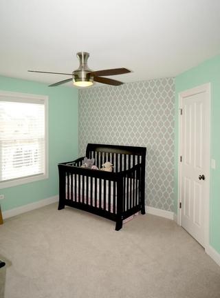 现代风格设计别墅套图婴儿房