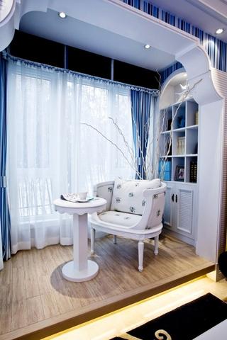 实用地中海两居室欣赏阳台
