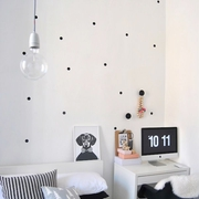 素色不失文艺的简约公寓欣赏客厅效果