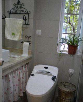 美式居家美宅欣赏卫生间窗户