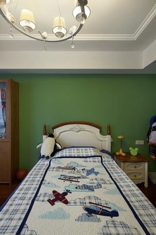 126平美式时尚四居欣赏卧室陈设