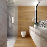 白色现代风格设计案例欣赏过道