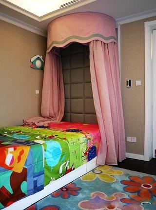简欧风格三居室欣赏儿童房