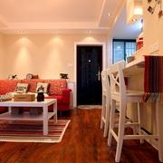 62平婚房设计欣赏客厅过道