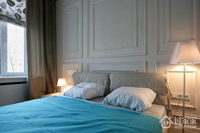 现代风格卧室床头