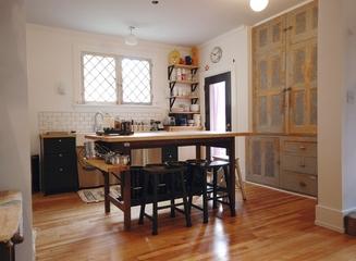 舒适田园自由住宅欣赏厨房设计