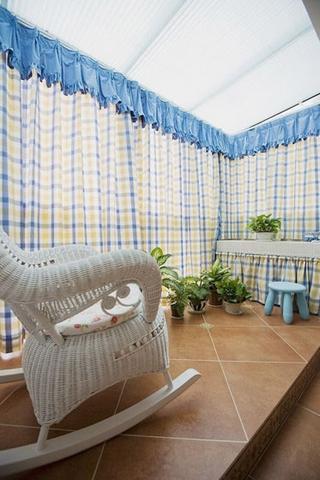 125平地中海复式楼欣赏阳台