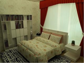 美式乡村大四居欣赏卧室衣柜设计