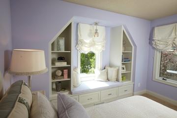 美式古典别墅装饰套图窗台