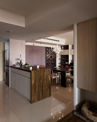 简约风格设计住宅吧台设计