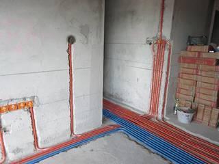 材料进场与水电改造开工