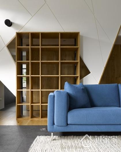 146平现代禅意复式欣赏客厅设计