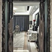现代风格豪宅室内门