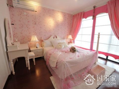 粉嫩简约住宅欣赏卧室窗帘