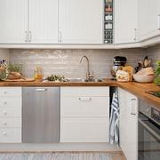 36平白色宜家住宅欣赏厨房设计