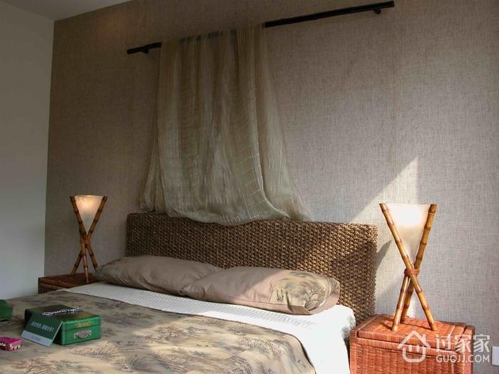 东南亚复式卧室设计效果
