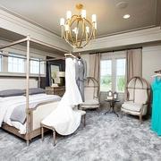 细节营造迷人现代别墅欣赏卧室