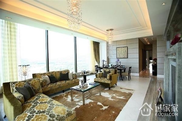 新古典三居室案例设计欣赏