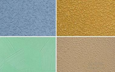 弹性拉毛漆的应用范围及施工工艺