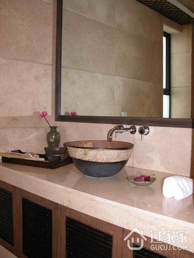 东南亚复式卫生间台面设计