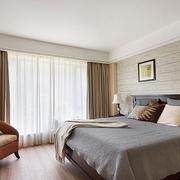 80后简约两居室欣赏卧室