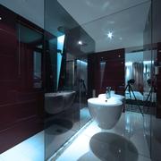 简约风格装修住宅卫生间