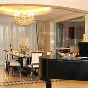 豪华欧式风格餐厅一景