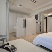 76平现代简约案例欣赏卧室局部