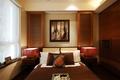 中式套图卧室背景墙