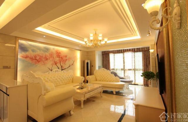 130平米简欧风格,全屋瓷砖上墙