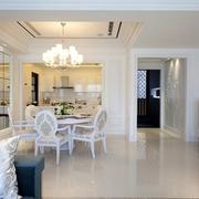 浪漫餐厅灯饰装修效果图 给家居一份温暖