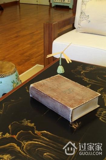东南亚风格三居室欣赏客厅摆件