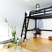 北欧风30平空间欣赏卧室