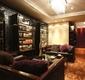 欧式风格设计酒柜沙发背景图