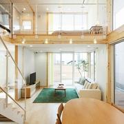 67平日式风格别墅欣赏客厅设计
