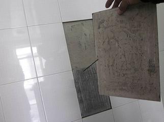 瓷砖空鼓脱落的原因及补救的方法