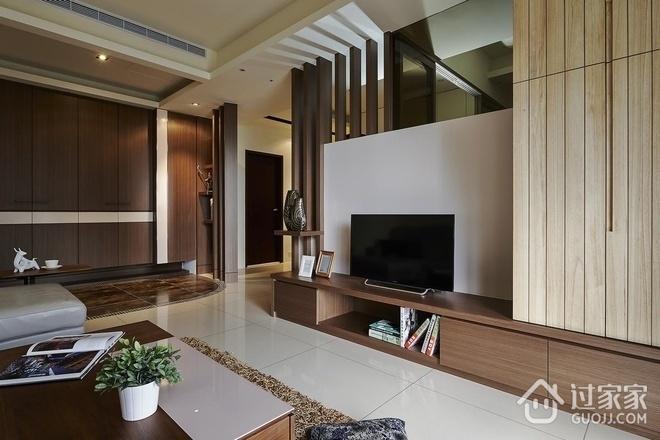 时尚客厅电视柜装饰图 最爱的现代家居效果