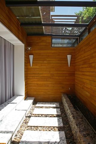 现代风格样板间住宅庭院