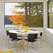 与森林呼应的现代风格欣赏餐厅
