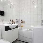 宜家风格装饰效果图卫生间