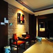 客厅古典风背景墙效果图
