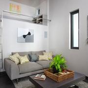 现代环保别墅小客厅