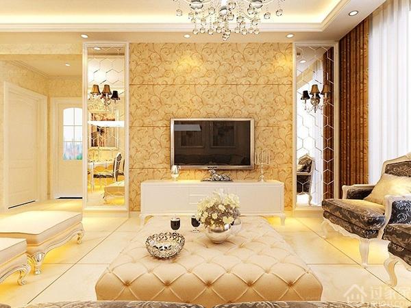 风格十足!融入了古典欧式风格的主元素和现代生活元素的简欧风格,让你不得不爱!