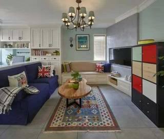 78㎡美式两居室,装修就花了16万,主要用料高端!